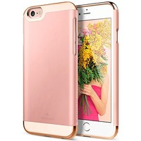 Maxboost Vibrance S Scratch Protection Slider Style Case for iPhone 6 / 6S - Rose / Champagne Gold
