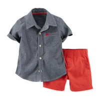 Carter's® Button-Front Shirt and Shorts Set – Baby Boys newborn-24m