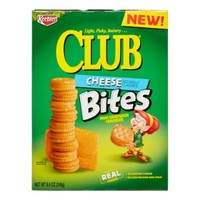Keebler Club Sandwich Cracker Bites, Cheddar Cheese, 8.8 Oz - Walmart.com