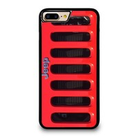 JEEP RED iPhone 7 Plus Case Cover