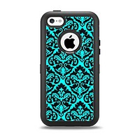 The Delicate Pattern Blank Apple iPhone 5c Otterbox Defender Case Skin Set
