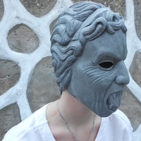 Weeping Angel Mask DOCTOR WHO / Latex by CrespoCuriosityShop