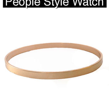 Plain Jane Bangle Bracelet