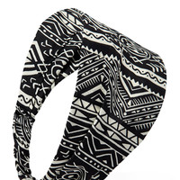 Tribal Print Headwrap