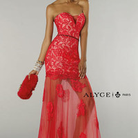 Alyce Prom 6343 Alyce Paris Prom Lillian's Prom Boutique