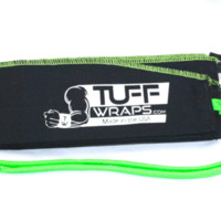 Green Monster Workout Wrist Wraps from TuffWraps