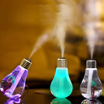 Ultrasonic Aroma Diffuser Humidifier 400ML USB 5V 7Colors Night Light Essential Oil Aromatherapy Mist New Fogger Humidifiers