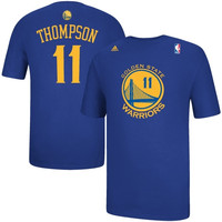 Klay Thompson Golden State Warriors adidas Net Number T-Shirt – Royal Blue