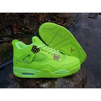 Air Jordan Retro 4 Gatorade Lemon Lime