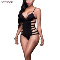 One Piece Bathing Suit JOYMODE New Swimwear Women 2018 Monokini  Bandage Swimsuit Female SEXY push up Swimming Suits for Women Bathing Suits KO_9_1