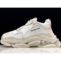 Balenciaga Triple-S Clear Sole Trainers 541624W09E190-1