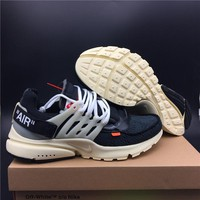 OFF-White TM X THE 10 NIKE AIR PRESTO AA3830-001 Size 36-46