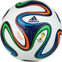 adidas Brazuca 2014 FIFA World Cup Official Match Ball | DICK'S Sporting Goods
