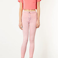 MOTO Pink Acid Joni Jeans - Jeans - Clothing - Topshop USA