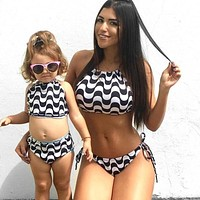 Mommy and Me Pattern 34 Swimsuit