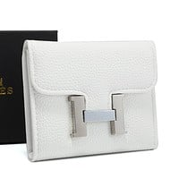 Hermes Fashion Leather Purse Wallet