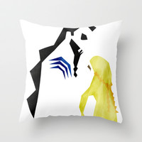 Game of Thrones - Drogo & Dany Throw Pillow by lapinette | Society6