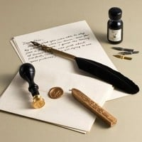 BARNES & NOBLE | Fleur De Lys Wax Seal Stationery Gift Set by Freund Mayer