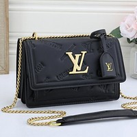 LV Louis Vuitton Women's Flip Shopping Shoulder Bag Messenger Bag