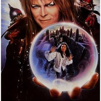 Labyrinth Goblin King Movie Poster 11x17