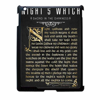 Game Of Thrones Nights Watch iPad 3 Case