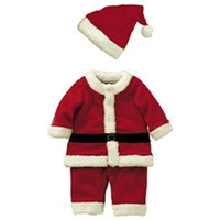Baby Kid Boys Christmas Sets Xmas Santas Party Jumpsuit Costume Outfit Suits