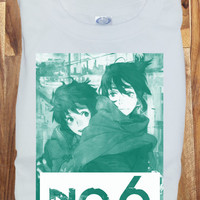 Custom Soft Premium No.6 Anime Cosplay T-Shirt