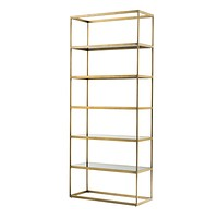 5 Shelf Brass Cabinet | Eichholtz Omega