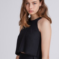 THE FIFTH FIFTEEN SUMMERS TOP black