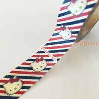 Washi tape - Hello Kitty Airmail - 15mm Wide - 10meters  WT724