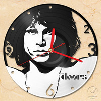 vinyl wall clock - The Doors (Jim morrison)
