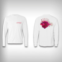 Lion Fish - Performance Shirt - Fishing Shirt