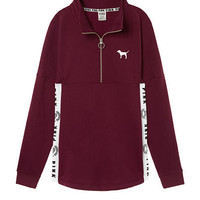 Varsity Quarter-Zip - PINK - Victoria's Secret