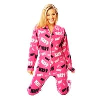 KISS Christine Classic Women's Footed PJ's | World's Best Pajamas