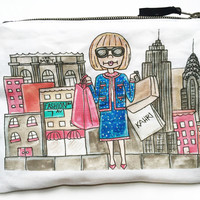 Anna in NYC Pouch