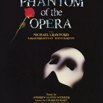 The Phantom of the Opera 27x40 Broadway Show Poster (1988)