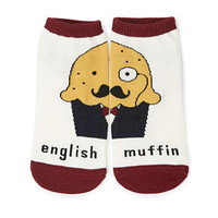 English Muffin Ankle Socks