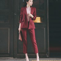 Pant suits for women 2018