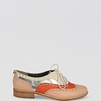 Sam Edelman Lace Up Oxford Flats - Jerome Spectator | Bloomingdale's