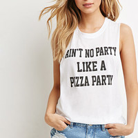 Pizza Party Graphic Tank