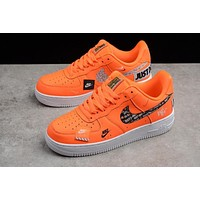 NIKE AIR FORCE ONE JUST DO IT \