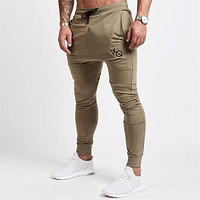 Mens Joggers GYMS New Men Pants Trousers Breathable Joggers