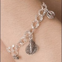 Wicked the Broadway Musical - Sterling Silver Charm Bracelet