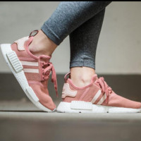 """""""Adidas"""" NMD Trending Fashion Casual Sports Shoes Pink"""