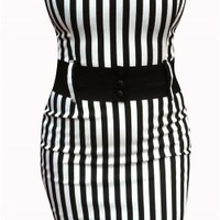 Switchblade Stiletto Zebra Darling Dress