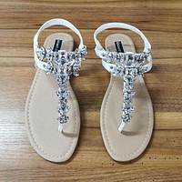 New Fashion Women Sandals Rhinestone Decoration