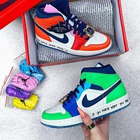 Nike Air Jordan 1 Mid SE Melody Ehsani Men and Women's Sneakers Shoes