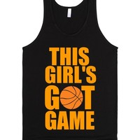 THIS GIRL'S GOT GAME | Tank Top | SKREENED