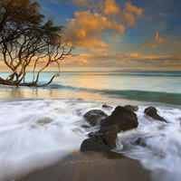 Sunset In Paradise Photograph by Mike  Dawson - Sunset In Paradise Fine Art Prints and Posters for Sale