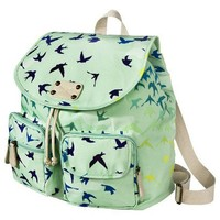 Target : Mossimo Supply Co. Printed Birds Backpack - Green : Image Zoom